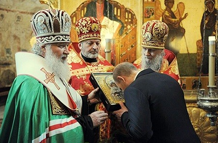 Putin orthodox church